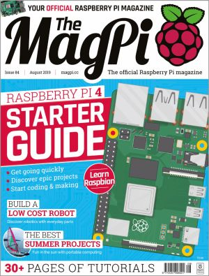 Cover of MagPi #84