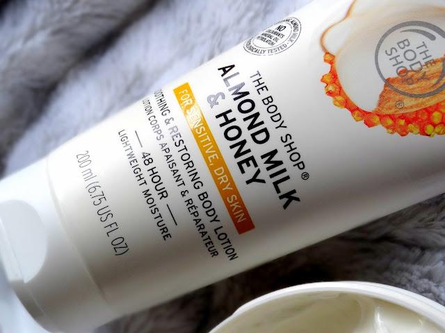 The Body Shop Almond Milk & Honey Bodycare
