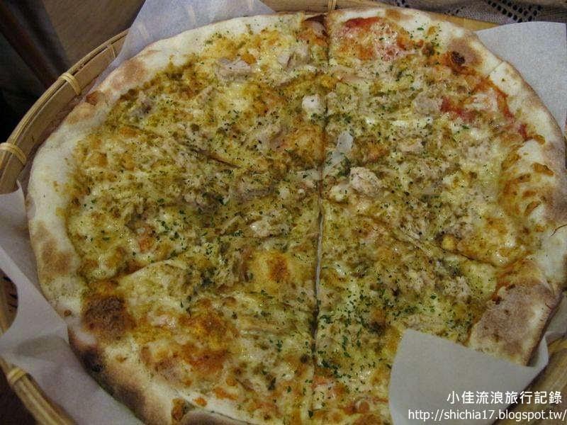 背包廚房孜然蒜香雞手工Pizza