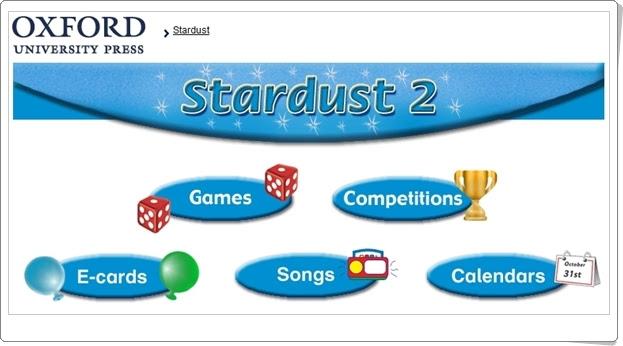 """""""Stardust"""". Inglés de 2º Nivel de Educación Primaria. Editorial Oxford."""