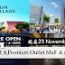全马最大Premium Outlet Mall 将在 23 November 正式开张!又有新地方逛了~
