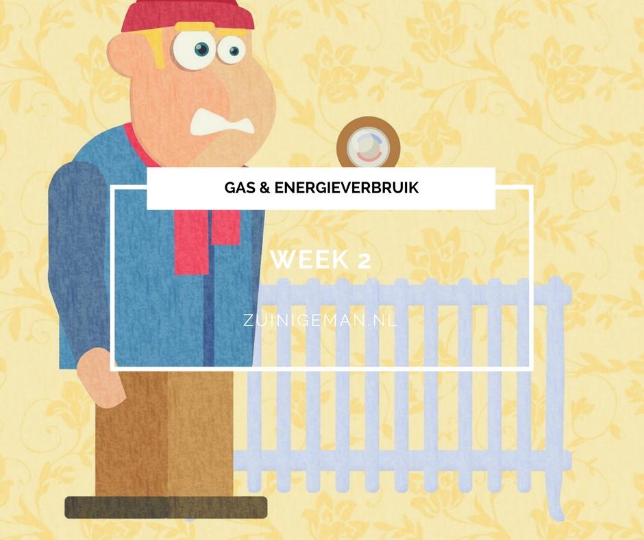 Gas en energieverbruik | week 3 2018 verwarming aan omdat het koud is