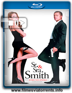 Sr. e Sra. Smith Torrent - BluRay Rip 720p Dual Áudio