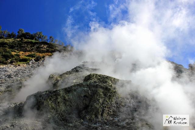 Wulkan solfatara Neapol