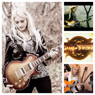 Tablatura para guitarra de ... Juego de Tronos. (Cover). Emily Rose Hastings.