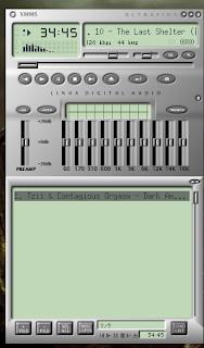Xmms player para tocar musica que lembra o Winamp