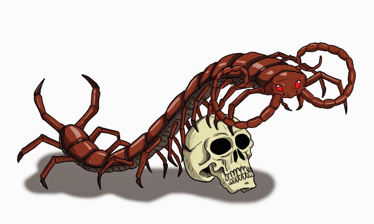 D&D Basic Monsters: Giant Centipede