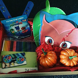 halloween, party, party supplies, PJ masks, pj, masks, disney junior, pumpkins, colouring, pencils, halloween party,