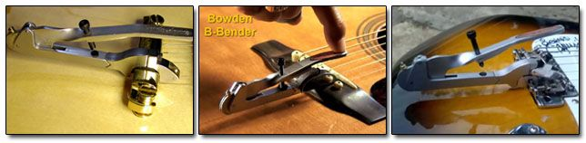 Sistema Bowden B-Bender para Guitarras Acústicas y Eléctricas