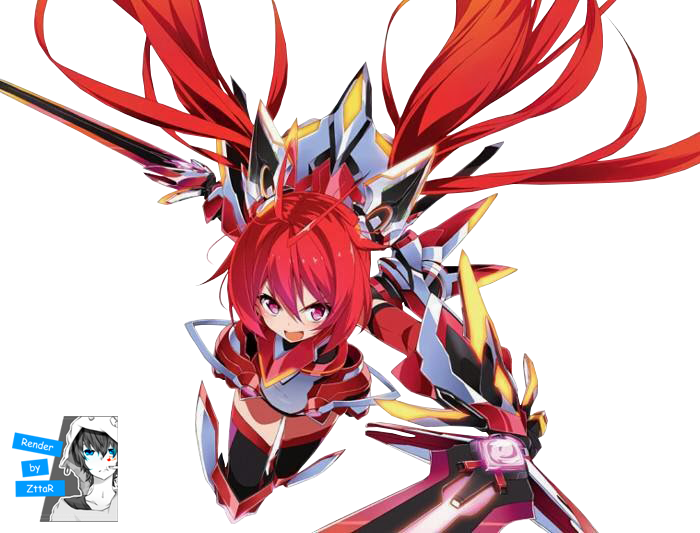 "Render Soji Mitsuka ""Tail Red"" + Ore, Twintail ni Narimasu"