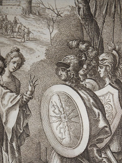 Detail showing Aeneas from Tonson's edition