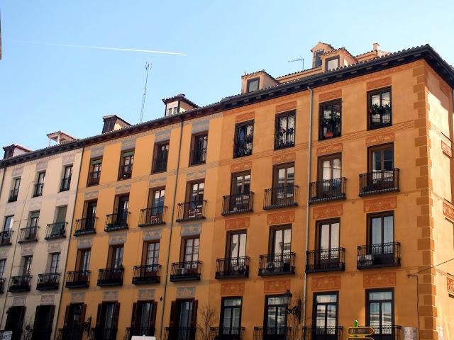 casas por el centro de Madrid