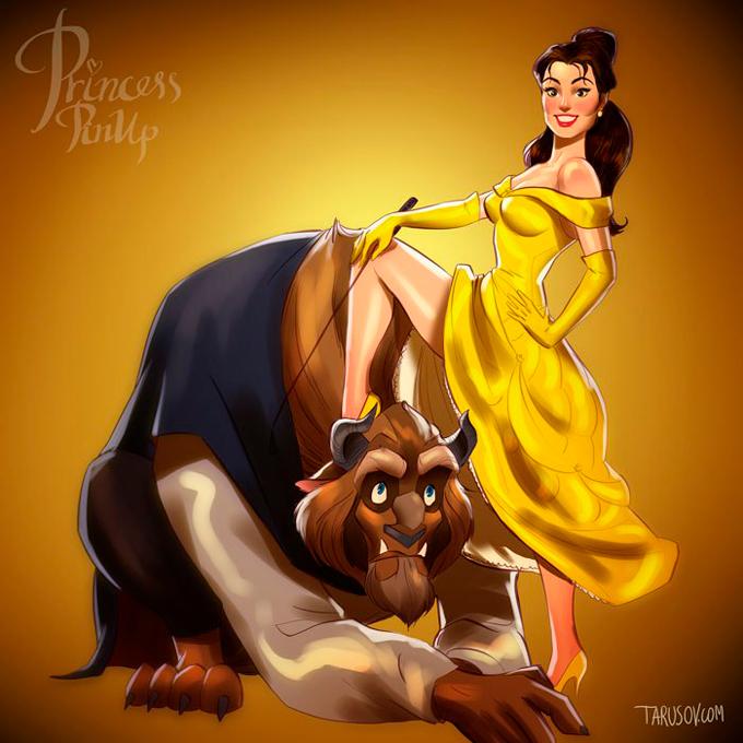 Disney pin up Пин ап Дисней