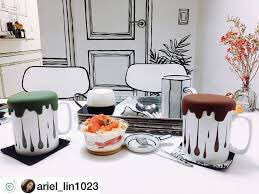 DESIGN CAFE KOREA SEPERTI LUKISAN!