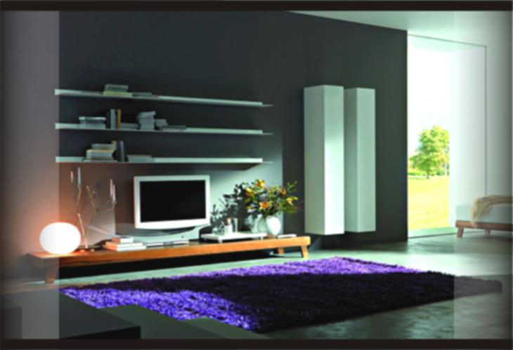 3 Contoh Desain Dekorasi Ruang Keluarga Tanpa Sofa