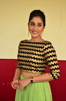 Actress Regina Candra Latest Pos in Green Long Skirt at Nakshatram Movie Teaser Launch  0129.JPG