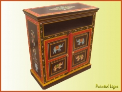 For More Details Visit Our Website Www Paintedwoodenfurniture Hand Painted Tv Stand