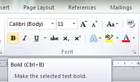 bar menu bolt italic underline