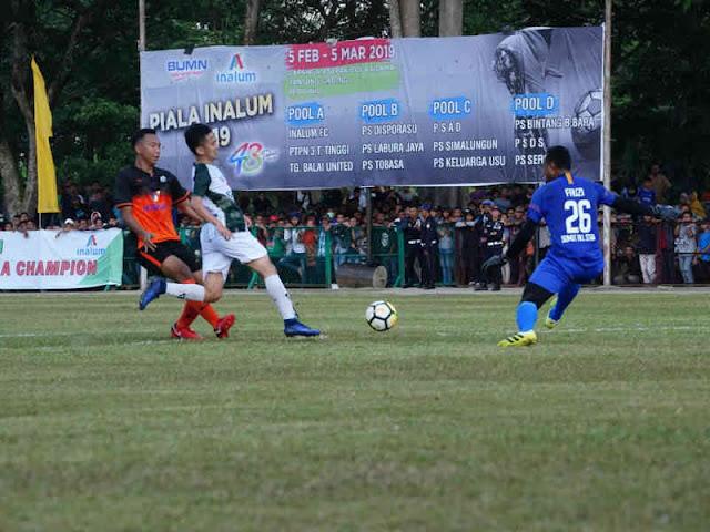Rayakan HUT ke 43, Inalum Gelar Turnamen Sepakbola Piala Inalum