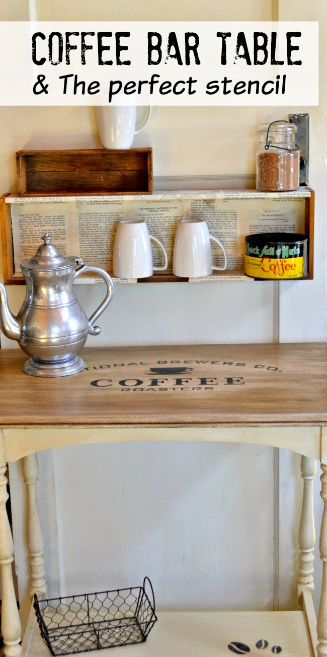 Coffee Station Table | Homeroad