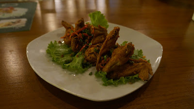 Spicy wing dari Urban Garden Pontianak