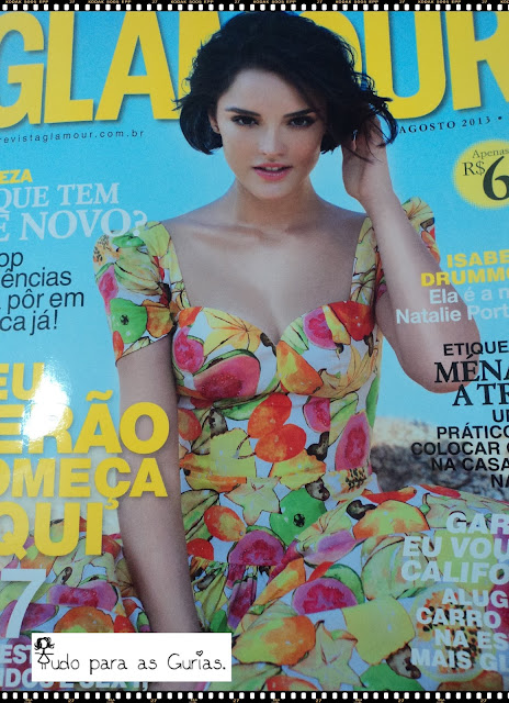 revista glamour; revista; glamour; agosto de2013