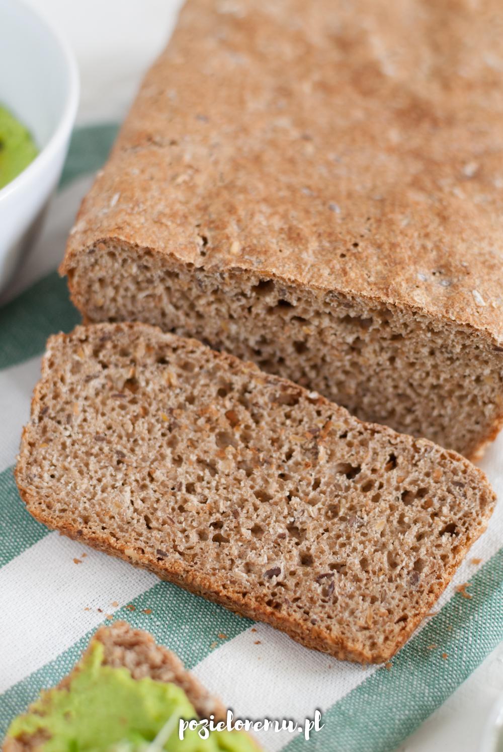 Chleb pełnoziarnisty - ekspresowy przepis