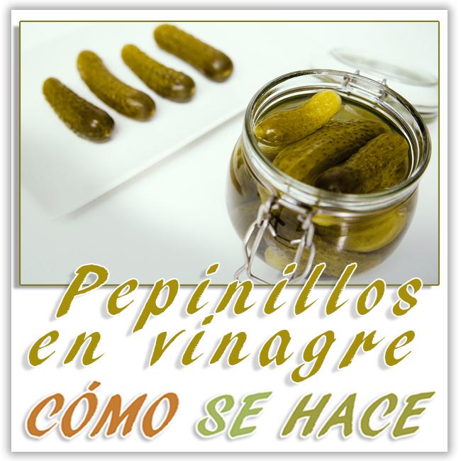 pepinillos en vinagre