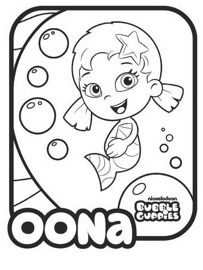 bubble guppies drawings oona child