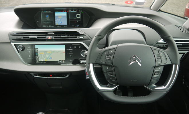 New Citroen C4 Picasso dashboard