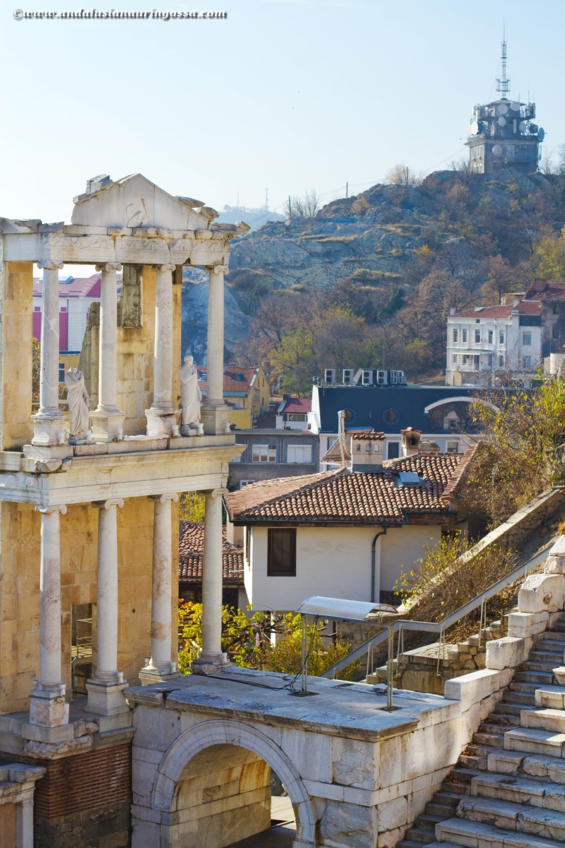 Plovdiv_vanha kaupunki_roomalainen teatteri