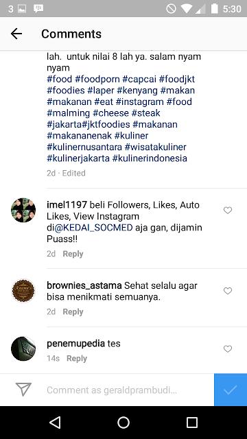 Cara Untuk Blokir Komentar SPAM Di Instagram Secara Otomatis