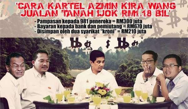 Skandall Tanah Ijok: Rakyat mahu Azmin dedah semua dokumen