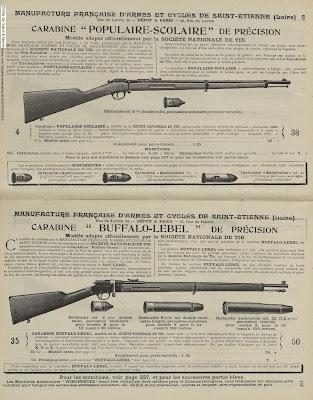 Notice Manufrance de la carabine Populaire-Scolaire 6 mm