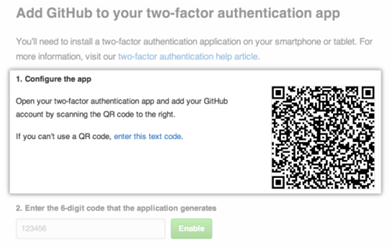 How to Configure Two-Factor Authentication For GitHub Using