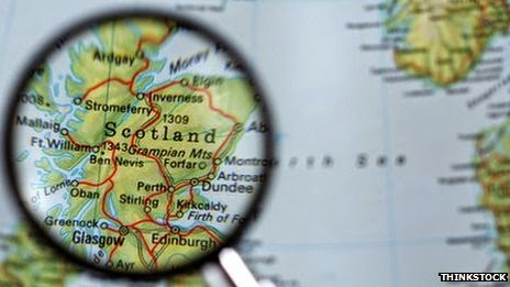 Scotland: Under the magnifying lens right now...