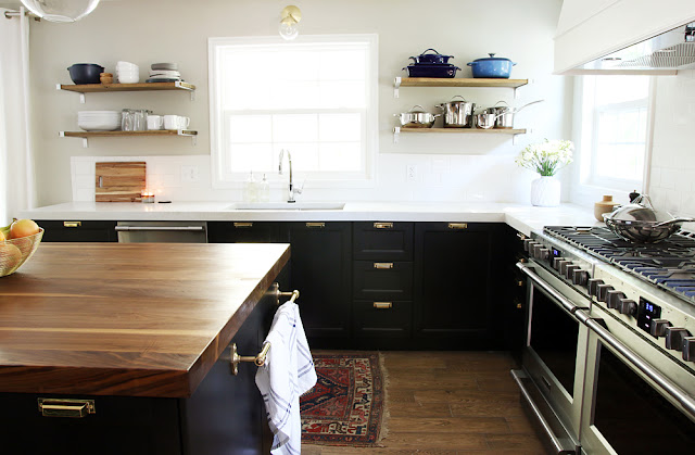 concrete countertop DIY with many different decor styles