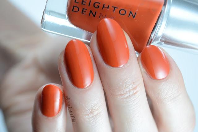 Leighton denny saffron hearts swatch furious filer