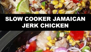 #The #World's #most #delicious #SLOW #COOKER #JAMAICAN #JERK #CHICKEN