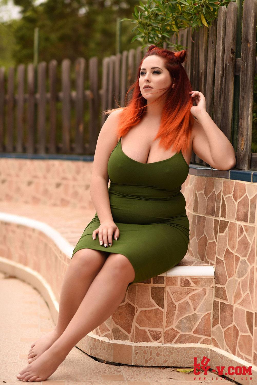 Voluptuous redhead models 4