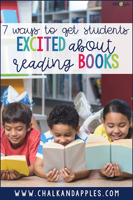 independent reading activities to get students excited about reading