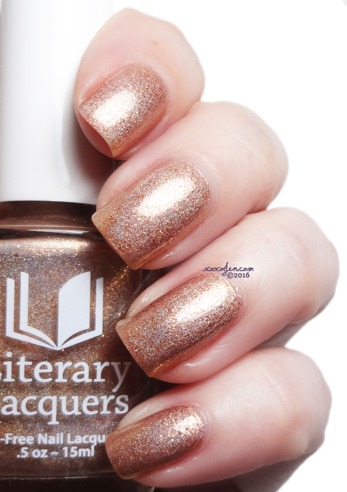 xoxoJen's swatch of Literary Lacquers Makuahine