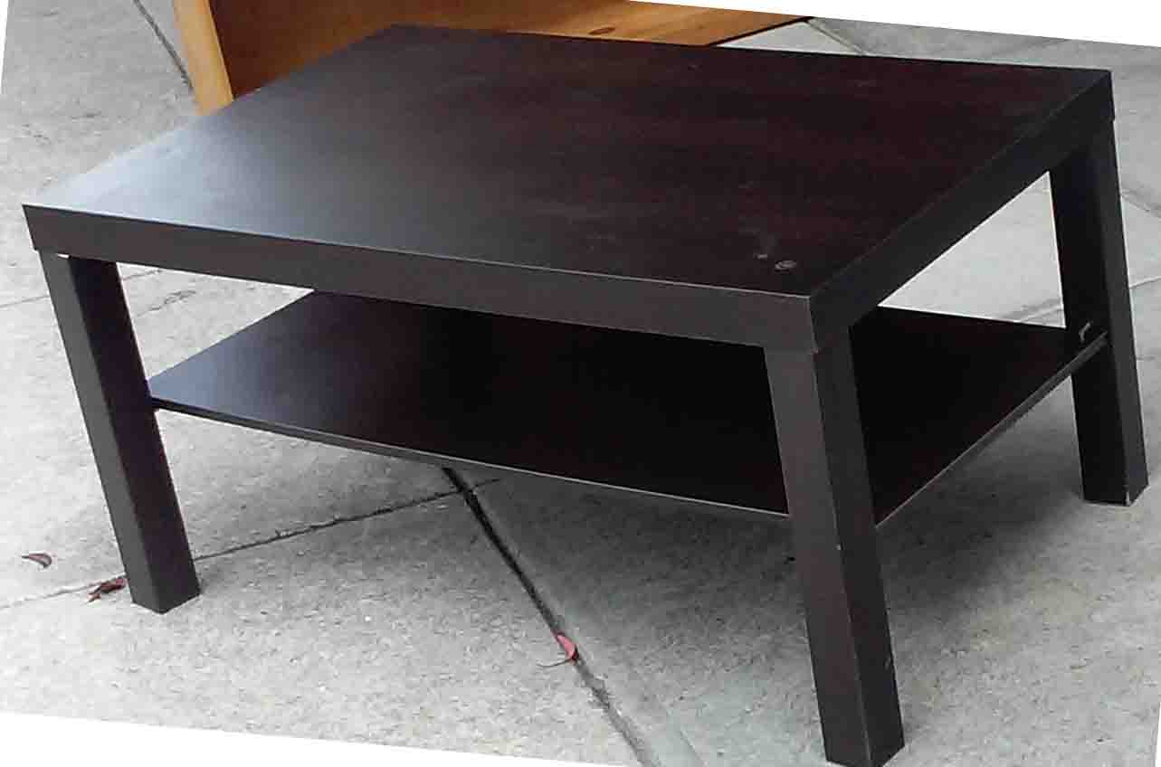 UHURU FURNITURE & COLLECTIBLES: SOLD Ikea Coffee Table