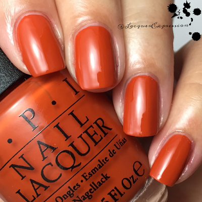 swatch and review of It's a Piazza Cake from opi 2015 venice collection