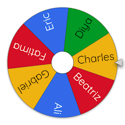 Wheel of Names - for Giveaways!