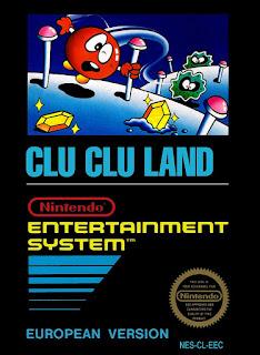 Clu Clu Land (BR) [ NES ]