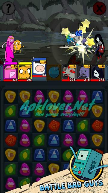 Adventure Time Puzzle Quest MOD APK