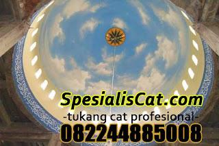 Jasa Tukang Cat Kubah Masjid Murah Profesional 082244885008