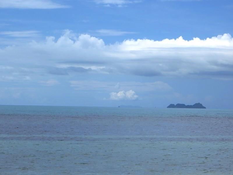 Голубое море на Самуи