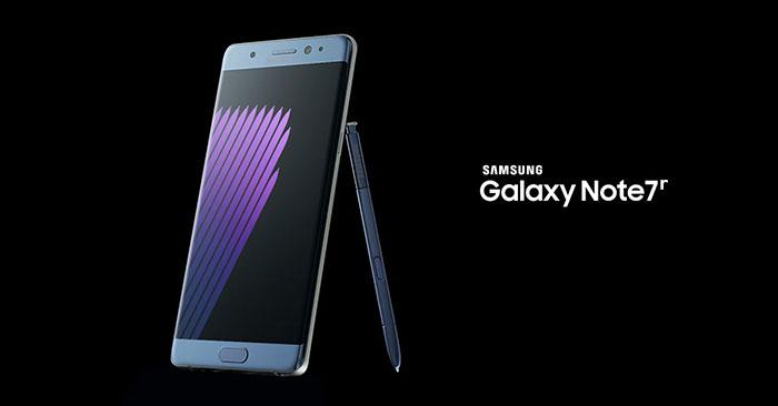 Samsung Galaxy Note 7R Mulai Di Pasarkan